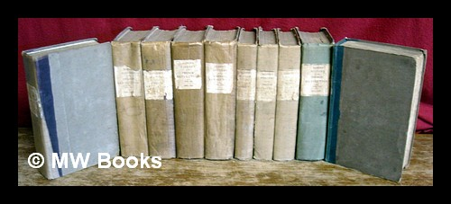 History of Europe during the French Revolution ... / by Archibald Alison [complete in 10 volumes]. Archibald Alison, Sir.