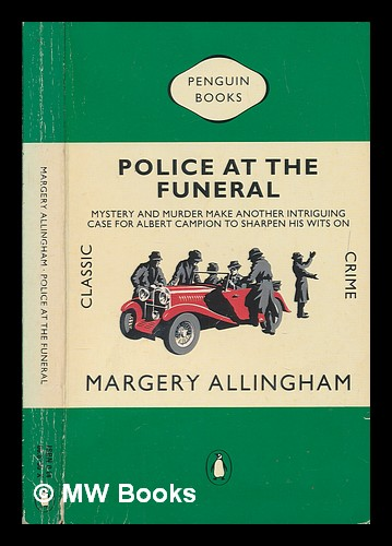Police at the funeral. Margery Allingham.