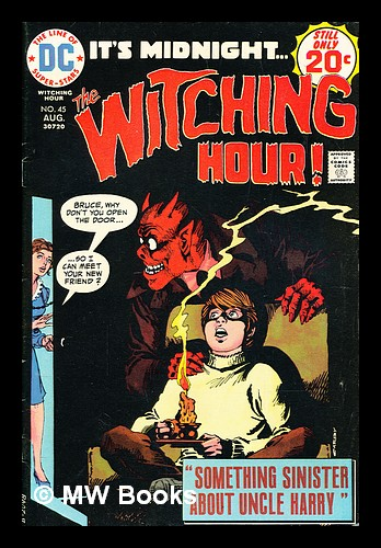 The Witching Hour, no. 45 Aug 1974. DC Comics.