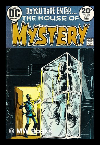 House of Mystery, no. 218 Oct 1973. DC Comics.