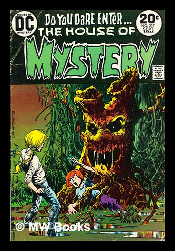House of Mystery, no. 217 Sept 1973. DC Comics.