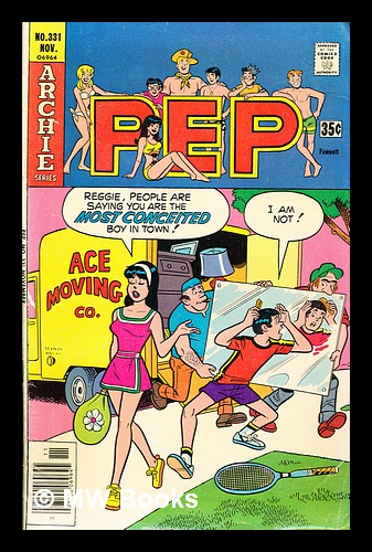 PEP, no. 331, Nov. 1977. Archie Comic Publications.