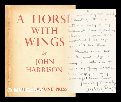 A horse with wings : poems / by John Harrison. John Wyndham.