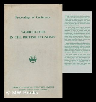 Agriculture in the British Economy. Agriculture In The British Economy, Brighton 15th-17th...