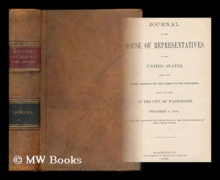 Journal of the House of Representatives of the United States, being the third session of the...