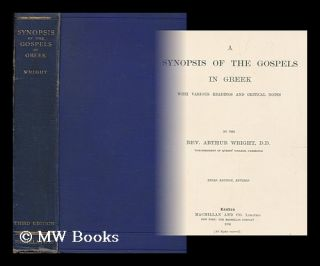 A synopsis of the Gospels in Greek : with various readings and critical notes / by the Rev....