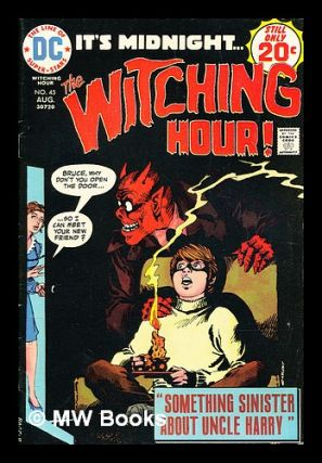 The Witching Hour, no. 45 Aug 1974. DC Comics